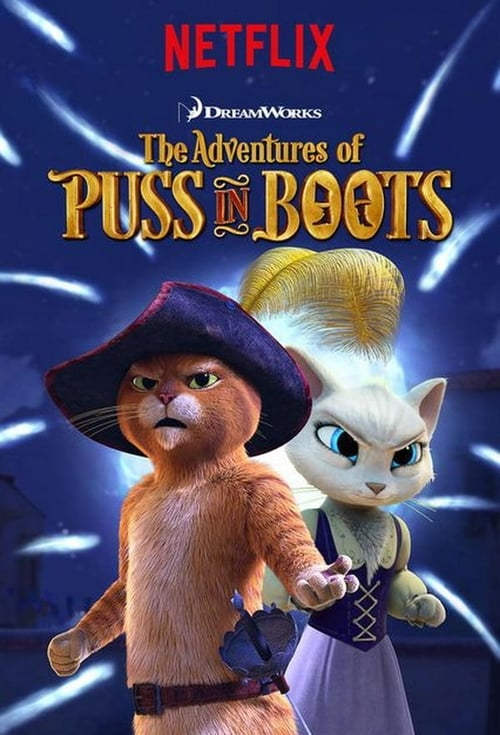 Cover of the Season 3 of The Adventures of Puss in Boots