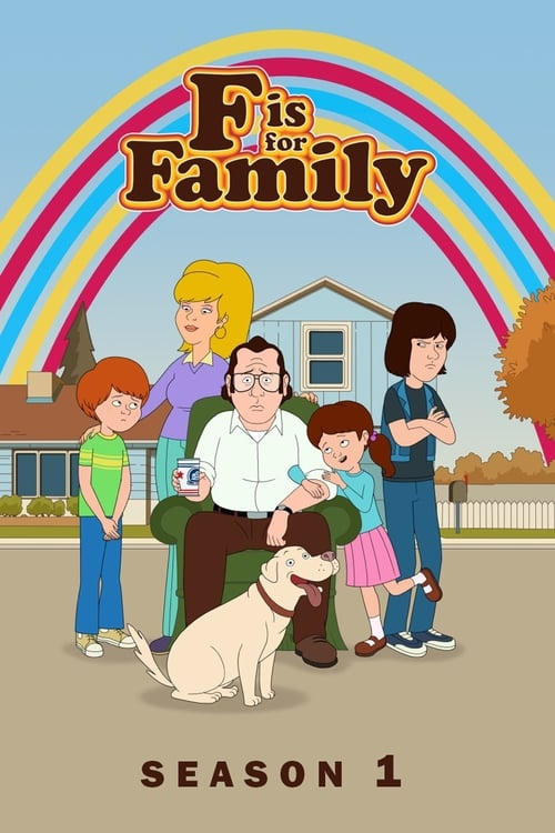 Cover of the Season 1 of F is for Family