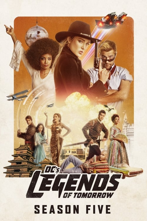 Cover of the Season 5 of DC's Legends of Tomorrow