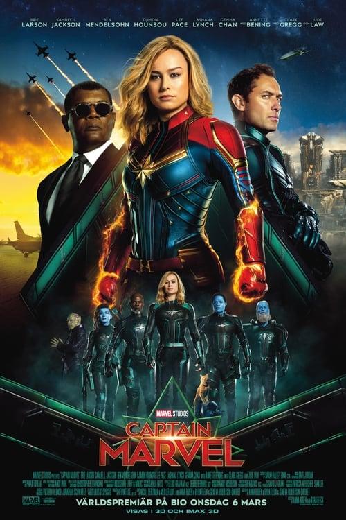 Poster för Captain Marvel - Banner