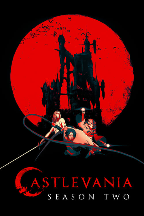 Cover of the Season 2 of Castlevania