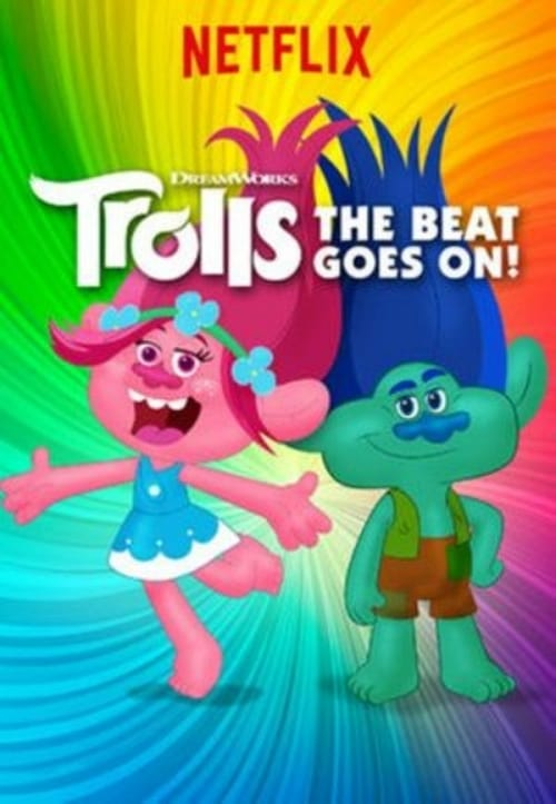 Cover of the Season 2 of Trolls: The Beat Goes On!