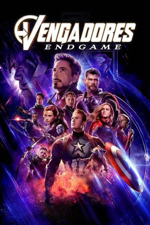 Póster Vengadores: Endgame