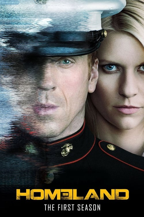 Cover of the Season 1 of Homeland