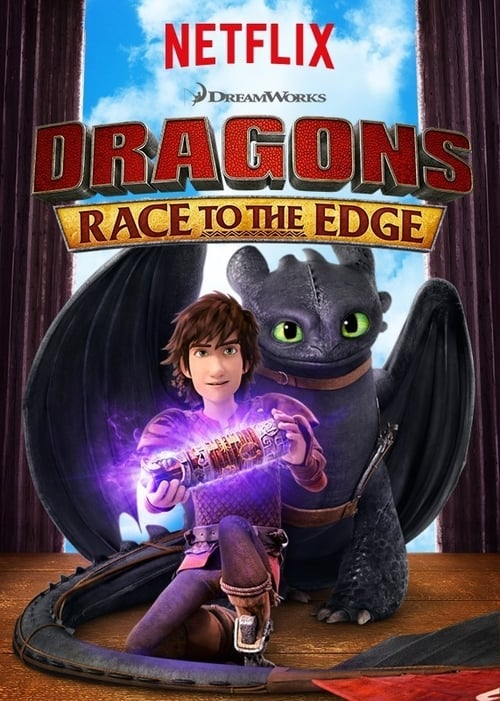 Cover of the Race to the Edge of DreamWorks Dragons