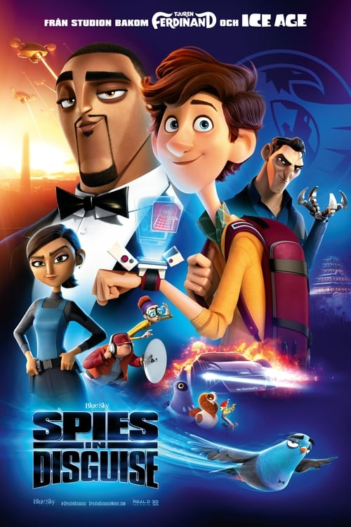 Poster för Spies in Disguise