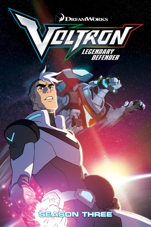 Cover of the Season 3 of Voltron: Legendary Defender