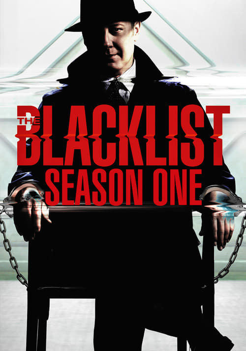 Cover of the Season 1 of The Blacklist