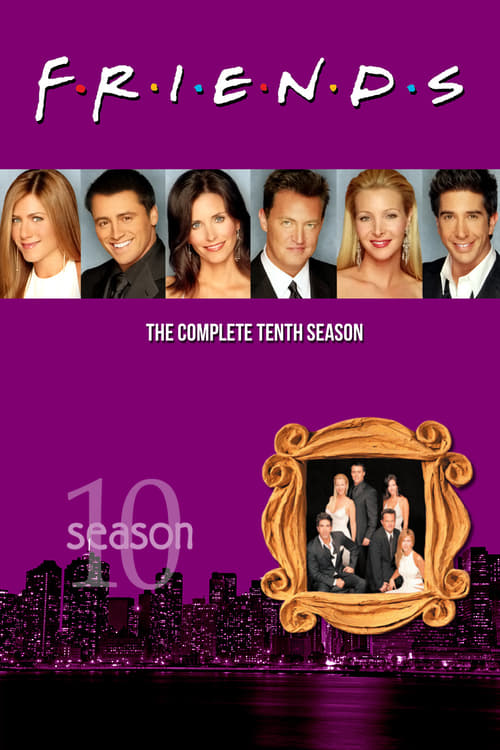 Cover of the Season 10 of Friends