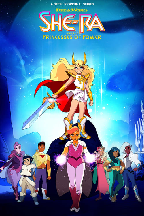 Cover of the Season 4 of She-Ra and the Princesses of Power