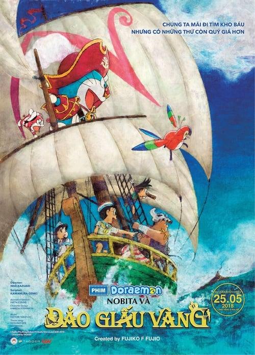 Doraemon the Movie: Nobita's Treasure Island Poster