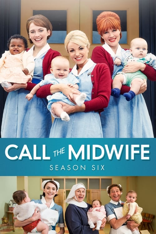 Cover of the Series 6 of Call the Midwife