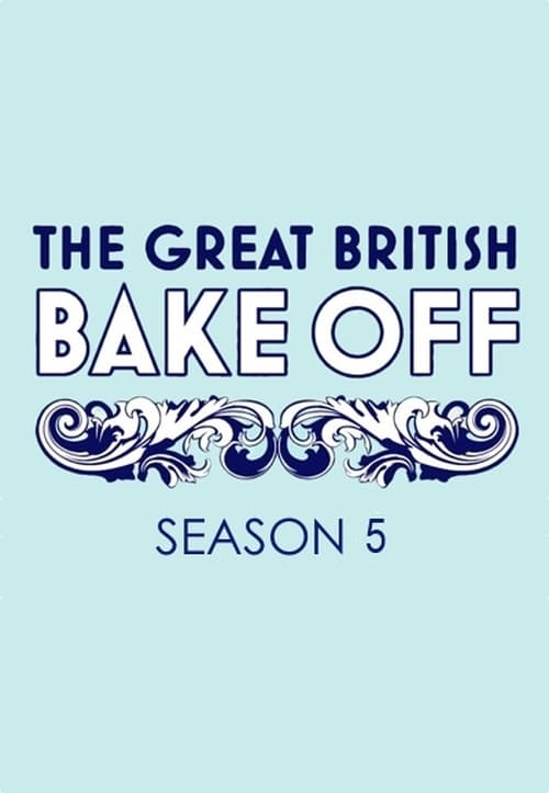 Cover of the Series 5 of The Great British Bake Off