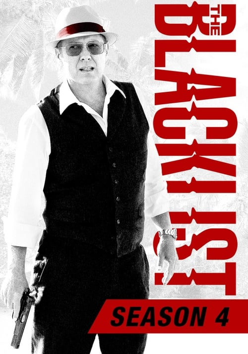 Cover of the Season 4 of The Blacklist