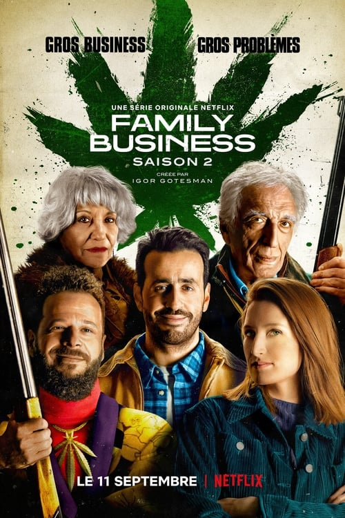 Cover of the Season 2 of Family Business