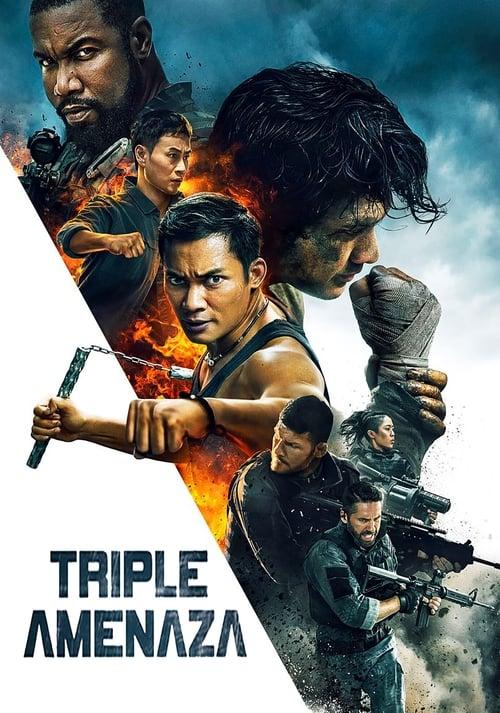 Triple amenaza (2019) Repelisplus Ver Ahora Películas Online Gratis Completas en Español y Latino HD