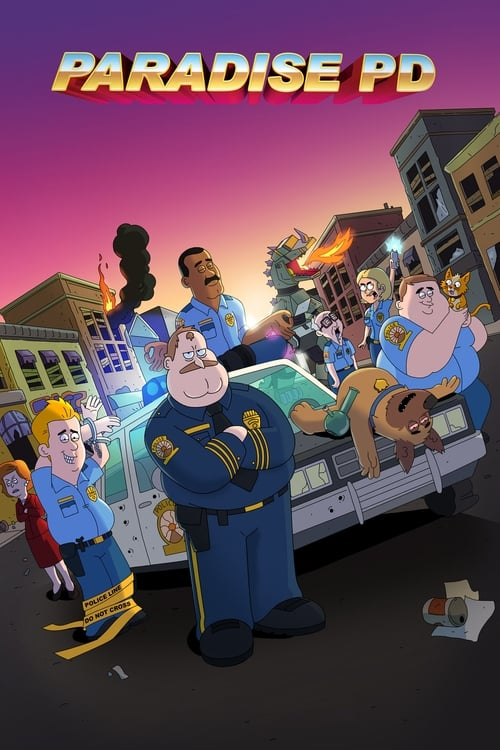 Cover of the Season 1 of Paradise PD