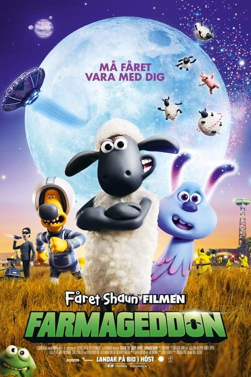 Poster för Fåret Shaun filmen: Farmageddon
