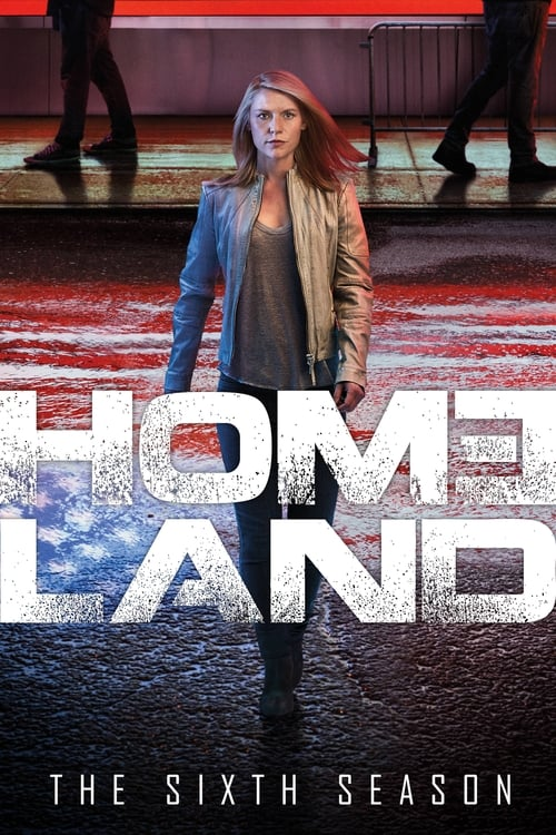 Cover of the Season 6 of Homeland