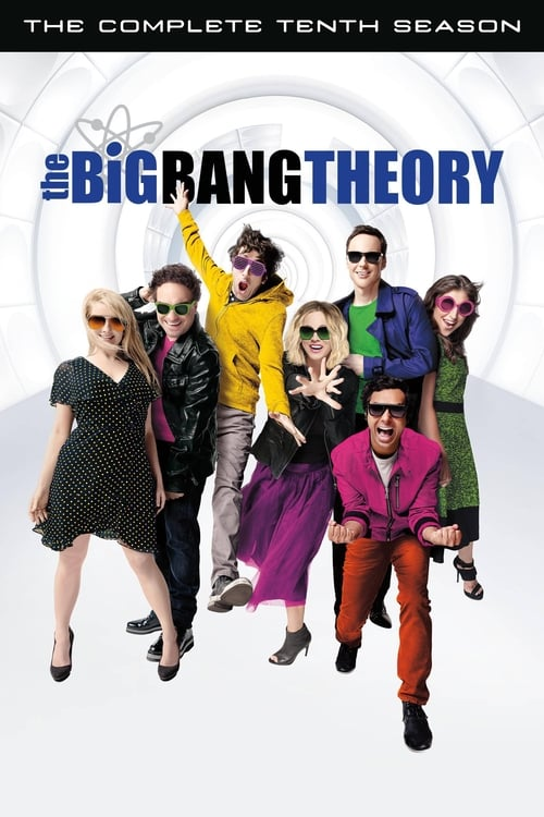 Cover of the Season 10 of The Big Bang Theory