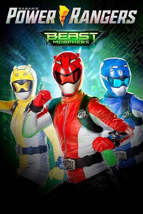 Cover of the Season 1 of Power Rangers Beast Morphers