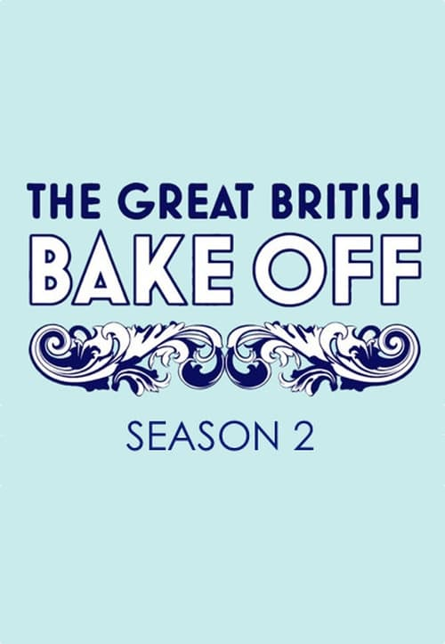 Cover of the Series 2 of The Great British Bake Off