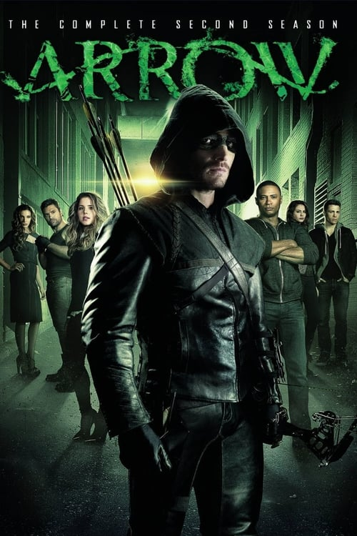 Cover of the Season 2 of Arrow