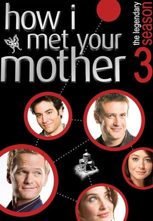 Cover of the Season 3 of How I Met Your Mother