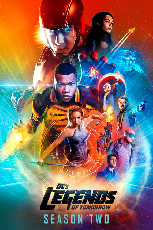Cover of the Season 2 of DC's Legends of Tomorrow