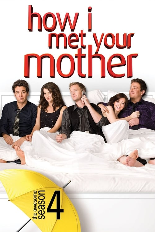 Cover of the Season 4 of How I Met Your Mother