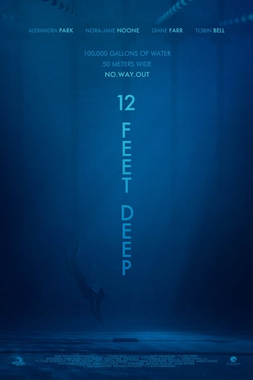 12 Feet Deep (2017) Watch Full Movie Streaming Online
