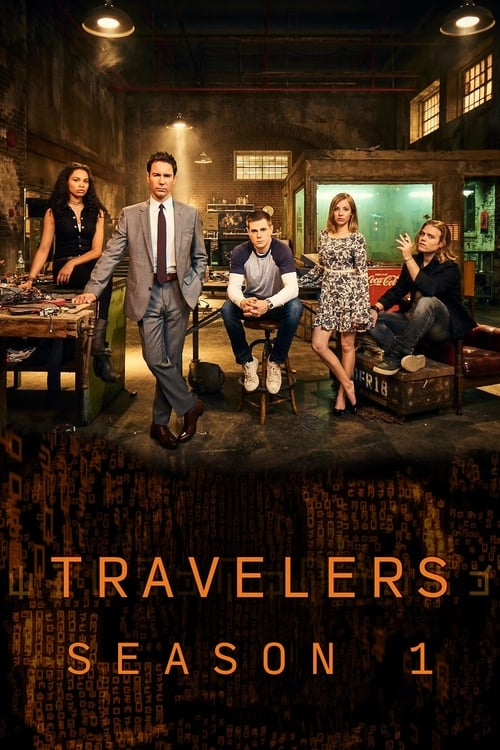 Cover of the Season 1 of Travelers