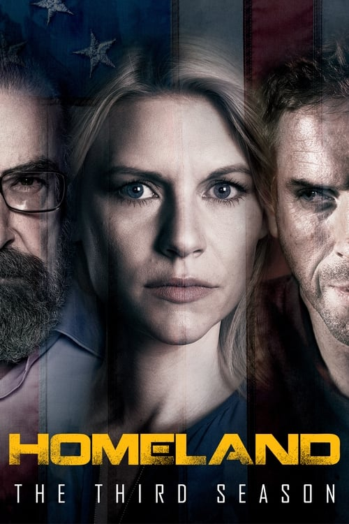 Cover of the Season 3 of Homeland