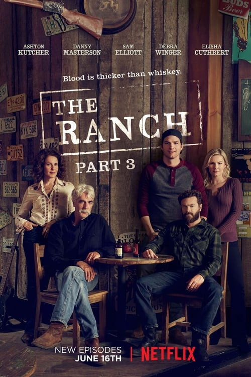 Cover of the Season 3 of The Ranch