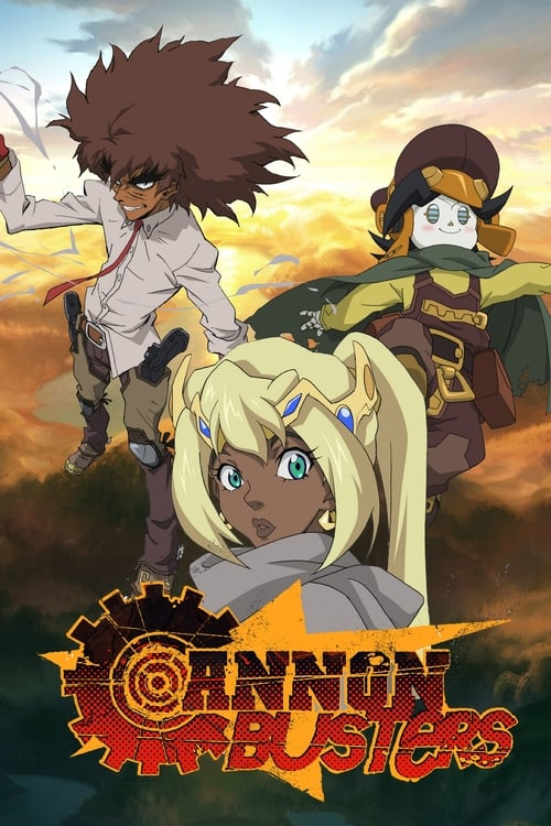 Cover of the Season 1 of Cannon Busters