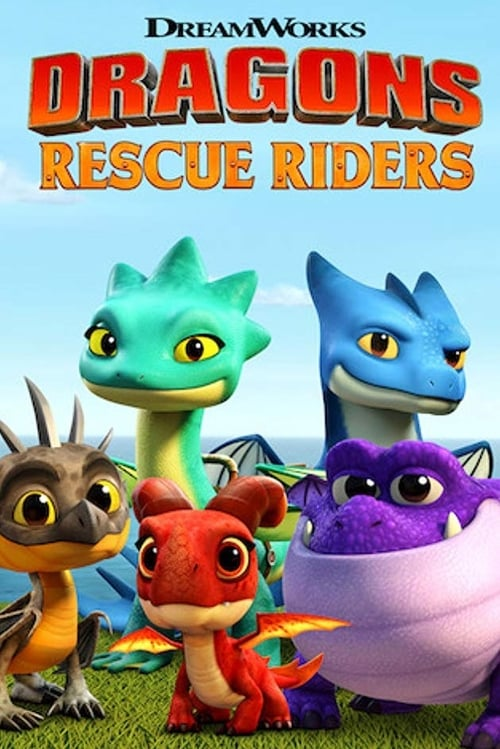 Cover of the Season 2 of Dragons: Rescue Riders