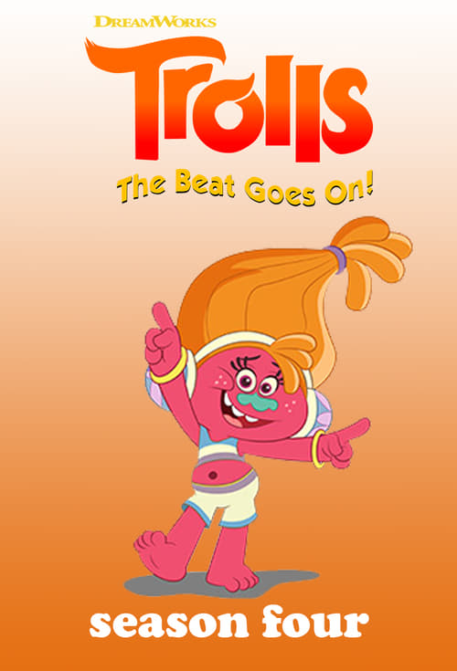 Cover of the Season 4 of Trolls: The Beat Goes On!