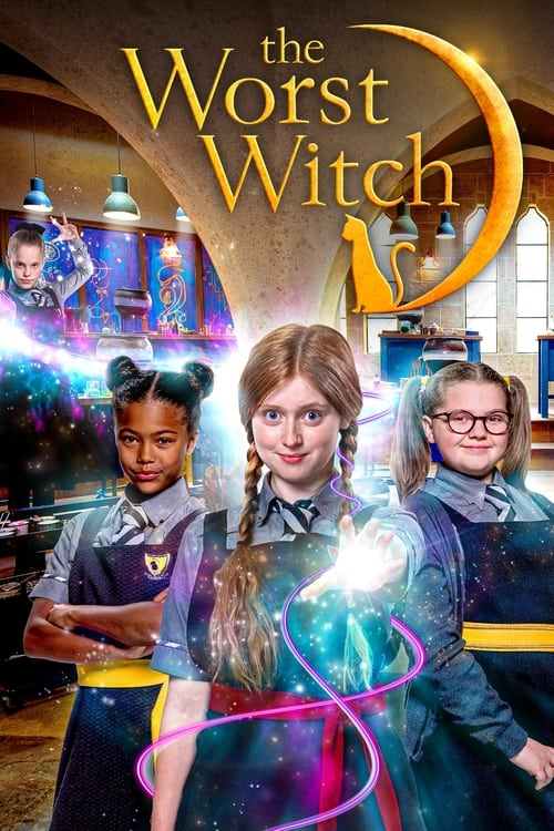 Cover of the Season 4 of The Worst Witch