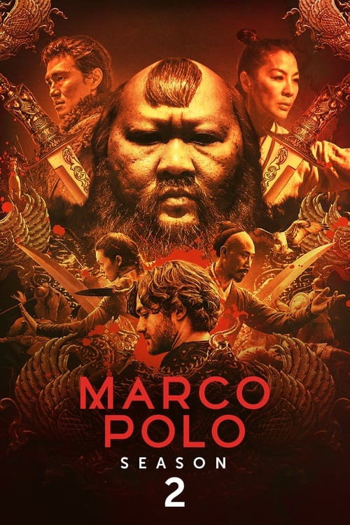 Cover of the Season 2 of Marco Polo
