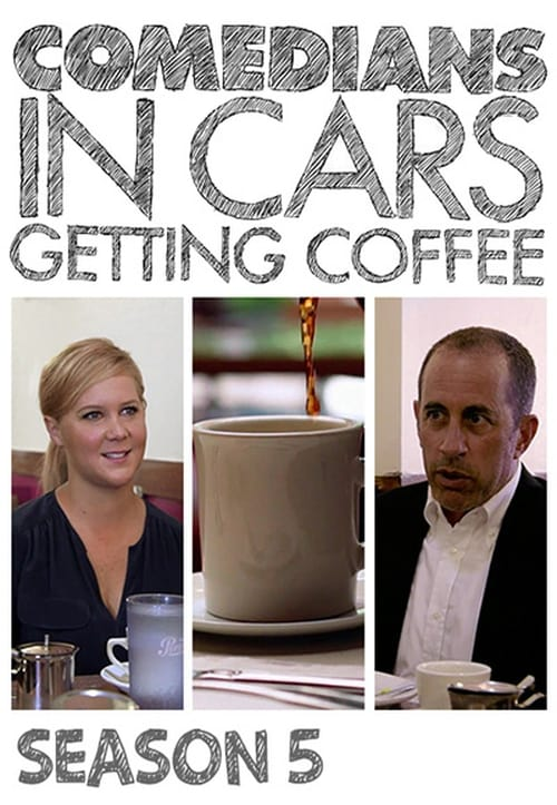 Cover of the Season 5 of Comedians in Cars Getting Coffee