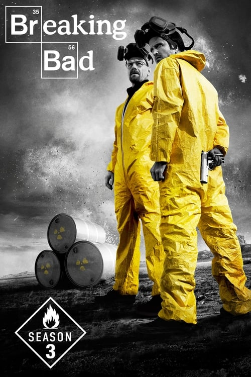 Cover of the Season 3 of Breaking Bad