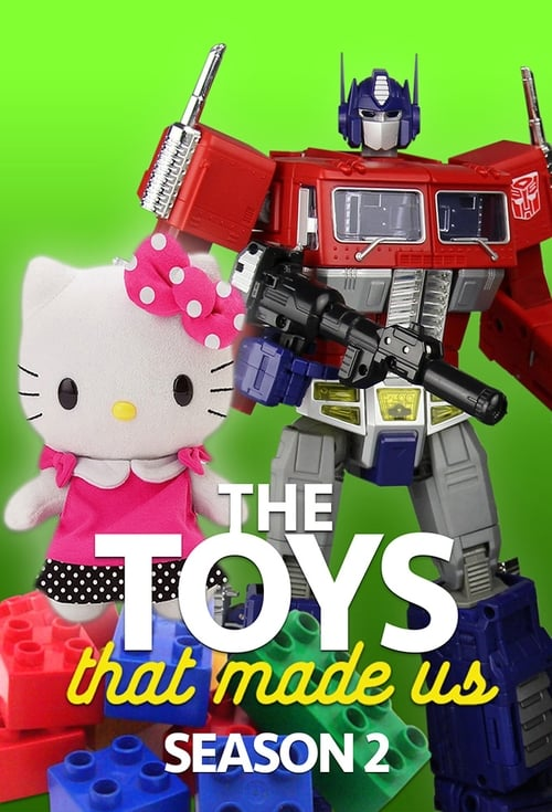Cover of the Season 2 of The Toys That Made Us