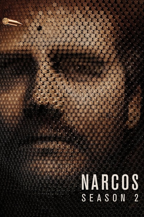 Cover of the Season 2 of Narcos