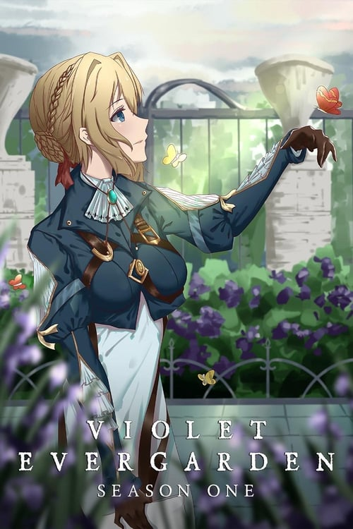 Cover of the Season 1 of Violet Evergarden