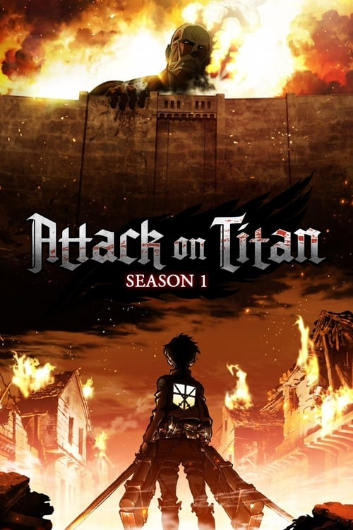 Cover of the Season 1 of Attack on Titan