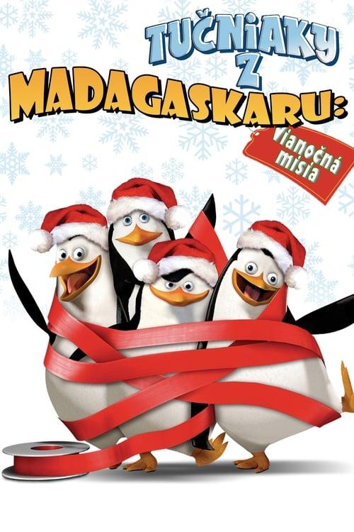 Tučniaky z Madagaskaru Vianočná misia