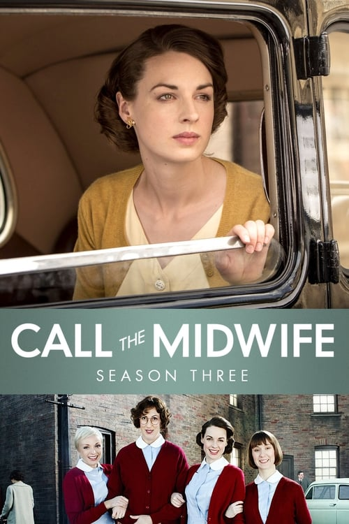 Cover of the Series 3 of Call the Midwife