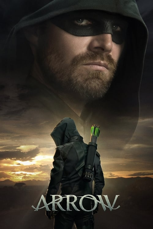 Cover of the Season 8 of Arrow