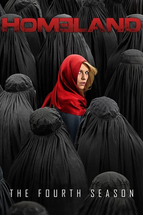 Cover of the Season 4 of Homeland