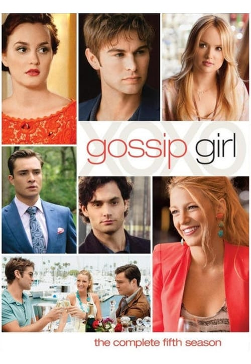 Cover of the Season 5 of Gossip Girl